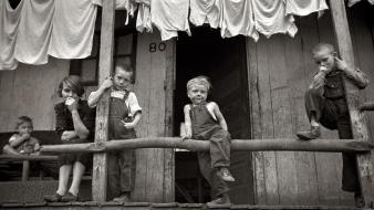 Laundry old photography children marion post wolcott wallpaper