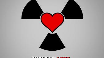Love nuclear hearts wallpaper