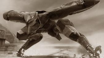 Metal gear mech wallpaper