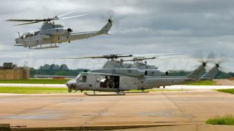 Military helicopters Wallpaper