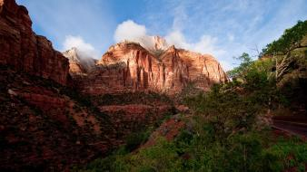 Mountains utah kolob canyons wallpaper