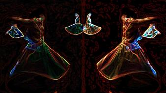 Mystical islamic awaking whirling dervish sufi wallpaper