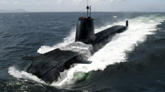 Ocean nuclear submarine wallpaper