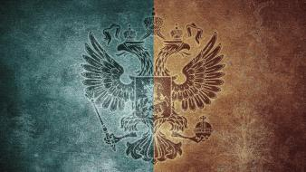 Of arms emblems two headed eagles heraldry wallpaper