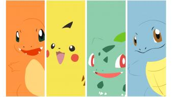 Pokemon bulbasaur pikachu squirtle charmander Wallpaper