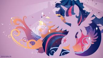 Ponies twilight sparkle pony: friendship is magic wallpaper