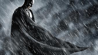 Rain superheroes fog the dark knight rises Wallpaper