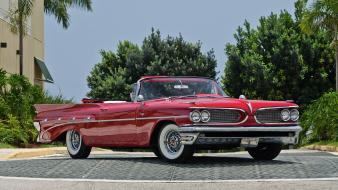Retro convertible pontiac catalina 1959 vintage car catalina, wallpaper