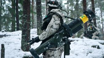 Rocket launcher finnish armed forces at weapon wallpaper