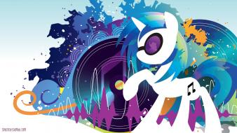 Scratch dj pon-3 pony: friendship is magic wallpaper