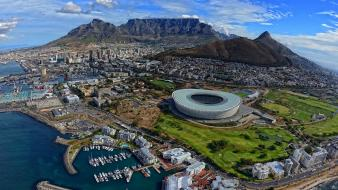 South africa cape town sea table mountain wallpaper