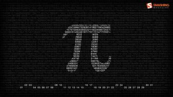Typography numbers calendar pi march smashing magazine symbols wallpaper
