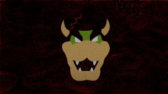 Video games red super mario bowser brothers game wallpaper