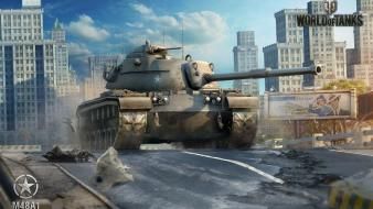 Video games world of tanks m48a1 Wallpaper