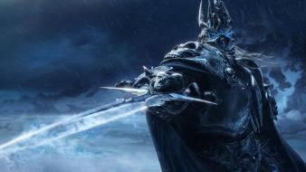 Video games world of warcraft wrath lich king wallpaper