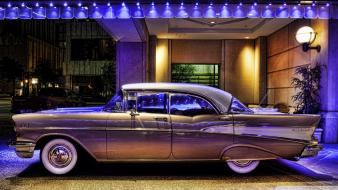 Vintage cars retro chevrolet classic chevy Wallpaper