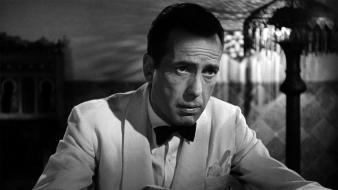 White movies humphrey bogart casablanca actors tuxedo Wallpaper