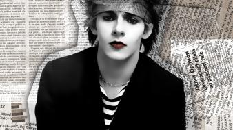 Black and white duran newspaper nick rhodes wallpaper