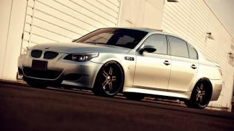 Bmw cars roads vehicles m5 e60 wallpaper