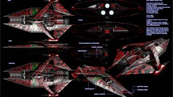Cannons spaceships babylon 5 vehicles shows sci-fi wallpaper