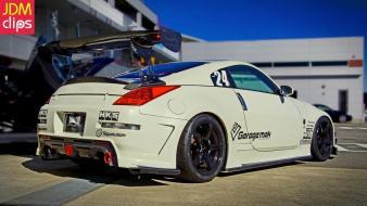 Cars nissan 370z jdm japanese domestic market Wallpaper