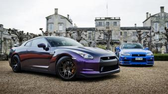 Cars nissan skyline castle gtr wallpaper