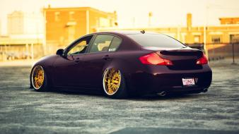 Cars tuning infinity g35 wallpaper