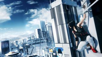 Cityscapes mirrors edge 2 Wallpaper