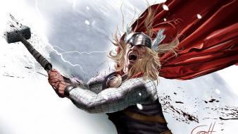 Comics thor mjolnir wallpaper