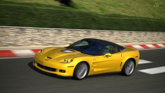Corvette zr1 gran turismo 5 playstation 3 wallpaper