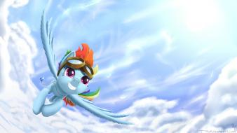 Dash pony: friendship is magic miyazaki skies wallpaper