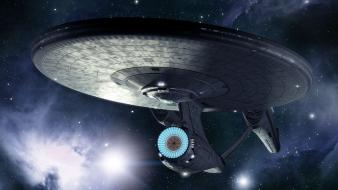 Futuristic star trek spaceships science fiction sci-fi wallpaper