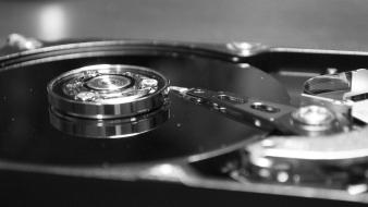 Hard disk drive computer technology wallpaper