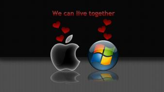 Inc. mac live together can windows logo wallpaper