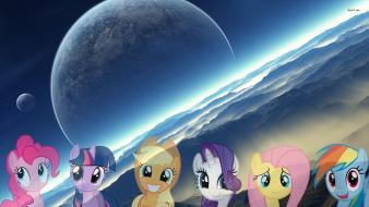 Mark pony: friendship is mane 6 equestria wallpaper