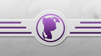 Minimalistic my little pony twilight sparkle icon wallpaper