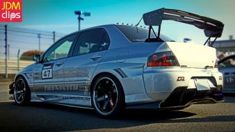 Mitsubishi lancer evolution jdm japanese domestic market viii Wallpaper