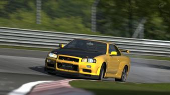 Nissan skyline gran turismo 5 playstation 3 wallpaper