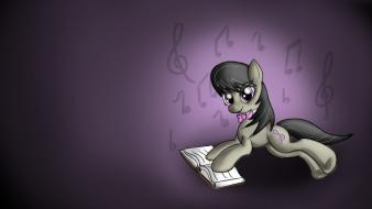 Octavia cutie mark pony: friendship is equestria wallpaper