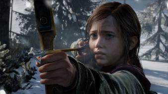 Playstation 3 the last of us ellie wallpaper