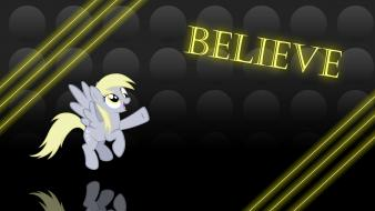 Ponies derpy hooves pony: friendship is magic wallpaper