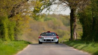 Rally racing classic cars wallpaper