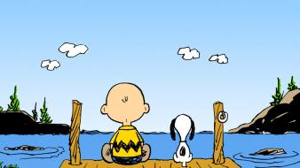Snoopy charlie brown peanuts (comic strip) wallpaper
