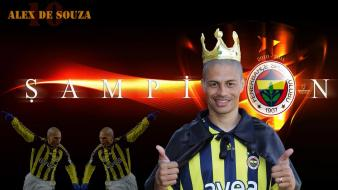 Sports fenerbahce alex de souza football player wallpaper
