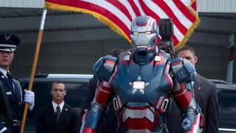 Stark patriot 3 james rupert rhodey rhodes wallpaper