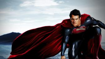 Superman henry cavill man of steel (movie) kal-el wallpaper