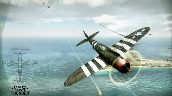 Thunderbolt war thunder world of planes wallpaper