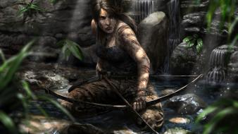 Tomb raider lara croft artwork wallpaper