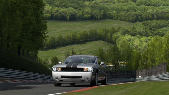 Turismo 5 dodge challenger srt8 playstation 3 wallpaper