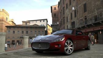 Turismo 5 playstation 3 maserati granturismo s wallpaper